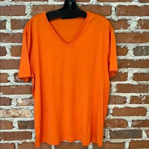Ralph Lauren Black Label V Neck T Shirt, XL